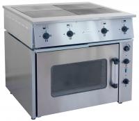 Плита электрическая 4-х конфорочная, ПЭ-0,48М с жарочным шкафом