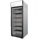 Холодильный шкаф DM105-G (ШХ-0,5ДС нерж.) Полаир