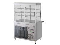 Прилавок-витрина холодильный электрический ПВХЭ15