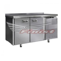 Холодильный стол СХС-700-2 с распашными дверями