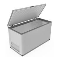 Морозильный ларь Frostor F500S с глухой крышкой