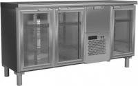 Холодильные шкафы горизонтальные «Carboma» (нержавеющая сталь) Carboma BAR-360С
