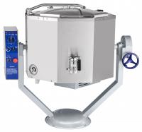 Котел пищеварочный электрический КПЭМ-100-ОМР со сливным краном