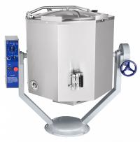Котел пищеварочный электрический КПЭМ-160-ОМР со сливным краном