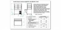Прилавок-витрина холодильный ПВВ(Н)-70М-С-НШ с гастроёмкостями (саладэт закрыт.,1500 мм.)