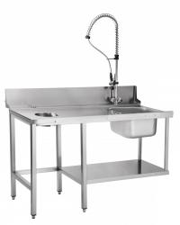 Стол предмоечный СПМП-6-5 Abat для купольных посудомоечных машин