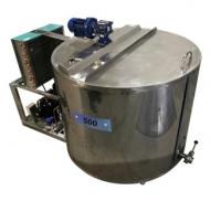 Установка охлаждения молока на 800 литров (Шайба)
