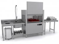 Посудомоечная машина Apach ARC100 туннельная