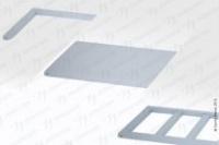 Полка-решетка СПМ-1500/2 Master, полимер