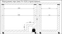 Морозильный ларь Иней-ГК500