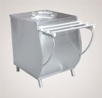 Прилавок ПТЭ-70М-80 для подогрева тарелок (80 тарелок, 2х240 мм., 630 мм., нерж.)