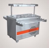 Прилавок холодильный ПВВ(Н)-70ПМ-НШ (откр., полка с подсветкой,с г/емкост.,1120 мм.)