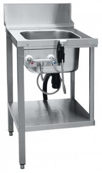 Стол предмоечный СПМП-6-1 Abat для купольных посудомоечных машин