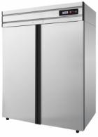 Холодильный шкаф CM114-G (ШХ-1,4 нерж.) Полаир