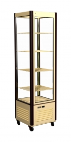 Холодильный шкаф Кондитерский D4 VM 400-1 (R400C бежево-коричневый, стандартные цвета)