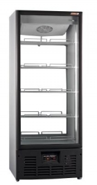Холодильный шкаф R700MSW стеклянная дверь, прозрачная стенка Ариада Рапсодия