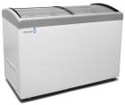 Морозильный ларь Frostor F400E Pro с наклонным гнутым стеклом для мороженного