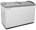 Морозильный ларь Frostor F500E Pro с наклонным гнутым стеклом для мороженного