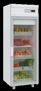 Холодильный шкаф DM105-S без канапе Полаир