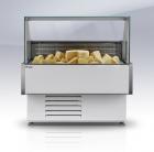 Холодильная витрина Gamma Quadro IC 90 LED (угол внутр.)