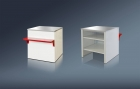Расчетный стол для витрин Ариель ВС- 3- 800