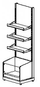 Стеллажный Модуль S5-20 03 CARBOMA