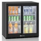 Холодильный шкаф Hurakan HKN-DB205S Барный