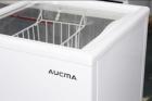 Морозильный ларь Aucma со стеклянной крышкой SD-205