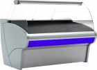 Холодильная витрина G110 VV 1,25-1 (ВХСр-1,25ш Carboma G110 (динамика))