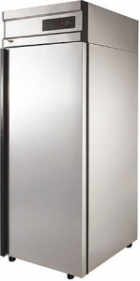 Холодильный шкаф CM105-G (ШХ-0,5 нерж.) Полаир