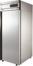 Холодильный шкаф CM107-G (ШХ-0,7 нерж.) Полаир