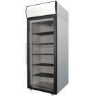 Холодильный шкаф DM107-G (ШХ-0,7ДС нерж.) Полаир