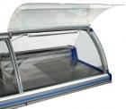 Холодильная витрина Парабель ВХСн-1,25 (без боковин,ТРВ)(одна тумба)