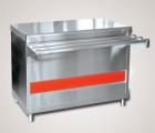Прилавок для горячих напитков ПГН-70КМ-02 нейтральный стол (без полок, 1120 мм.)