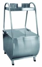 Прилавок для столовых приборов ПСП-70М (630 мм., нерж. стаканы)