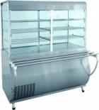 Прилавок-витрина холодильный ПВВ(Н)-70М-С-ОК с охлаждаемой камерой (саладэт закрыт.,1500 мм.)