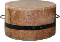 Колода разрубочная настольная дуб  Н 10-25 см., D 20-40 см.
